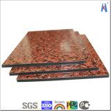 PE PVDF Aluminum Composite Panel van ACS van Megabond voor Sale