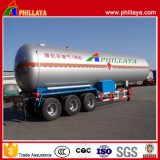 55.6 M3 Liquid Gas LNG Tanktransport Semi-remorque Container