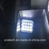 Los medios de publicidad exterior vallas promocionales señal óptica multiángulo Foco LED