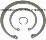 Anel de retenção de aço inoxidável / Freio (DIN471 / DIN472 / DIN6799)