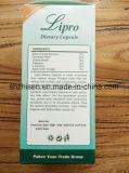 Pillole di dimagramento dietetiche di erbe sane naturali di Lipro per perdita di peso