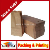 Sacs en papier Kraft imprimés pour la nourriture (220005)