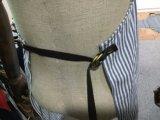Kundenspezifische Marine und schwarzes Streifen-Arbeits-Schutzblech
