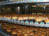 パンのハンバーガーのトーストの螺線形の冷却塔