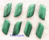 Естественные шарики формы листьев малахита
