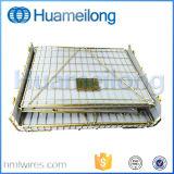 Galvanisierter faltender Metallhaustier-Vorformling-Maschendraht-Behälter