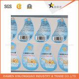 스티커를 인쇄하는 주문을 받아서 만들어진 방수 투명한 PVC 서류상 필수품 접착성 라벨