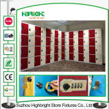 Euo-Friendly ABS Material plástico Kids Storage Locker Cabinet