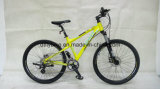 "Bike,26""Tusheng, Disc-Brake Hidráulico, Mountain Bike com Shimano 24s"