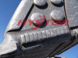 Bimetallische ASTM A532 Chrom-Form-Abnutzungs-Tasten
