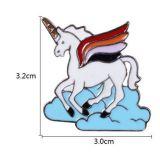 Pin della spiaggia dell'unicorno/Annmial/dello zinco per l'adulto ed i bambini