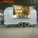 新しいデザイン軽食のための移動式食糧トレーラー