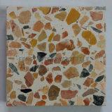 Mosaico de piedra artificial de cemento, piso de baldosas de terrazo Jardín, Baldosa Cerámica