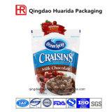 Tribune de van uitstekende kwaliteit van de Zak van de Verpakking van het Voedsel op de Zak van de Ritssluiting met Venster