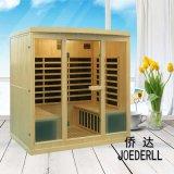Neue Entwurfs-Sauna-Kabine-/Hot-Verkaufs-weites Infrarot-Sauna für 4 Leute