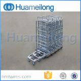De Logistische Gegalvaniseerde Vouwbare Rolling Containers van uitstekende kwaliteit