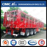 Cimc estaca de Huajun 3axle/del cargo acoplado semi con los bloqueos