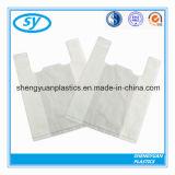 Sacs à provisions en plastique de gilet de HDPE/LDPE