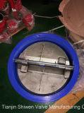 Dn500 de Kneedbare Klep van de Controle van het Wafeltje van de Plaat van de Verbinding van het Ijzer EPDM Dubbele