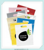 OEM van het Handvat van de Stempel van de Besnoeiing van de matrijs Douane Afgedrukte Kleinhandels Plastic het Winkelen Zak