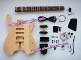 Супер! Безглавый набор электрической гитары модели DIY (Afanti AHGK002-S)