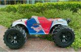 1/10의 4WD 전기 폭력 RC 모형