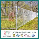Безопасность в аэропортах виниловая пленка с покрытием звено цепи ограды/ тюрьме ограждения