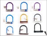 Bloqueo al por mayor púrpura de la dimensión de una variable de la bici/de la bicicleta U (BL-024)