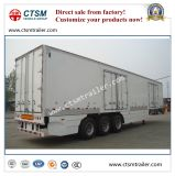 Rimorchio casella/camion termici refrigerati resistenti del Van Type Semi