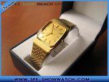 人のためのSL-1002金の水晶腕時計