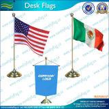 Custom полиэстер Office Desk флаг (B-NF09M05005)