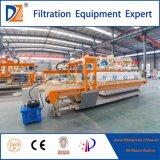 Industrielle Filterpresse-Maschine mit automatisches Tuch-waschendem System