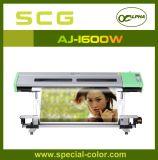 Dx5 de base acuosa mejores impresoras de inyección de tinta Alpha Aj-1600 (W)