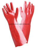 PVC上塗を施してある手袋1403年