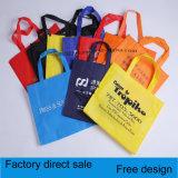 Sac non-tissé enduit feuilletant, sac de couture d'impression multicolore