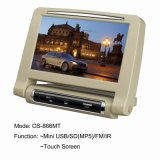 8 Zoll-Digital-Verkleidungs-aktive Kopflehne Monitor/IR/USB/SD (MP5) (OS-866MT)