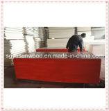 La película de la buena calidad hizo frente al precio marina de la madera contrachapada de la madera contrachapada para los materiales de construcción de la construcción