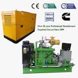 가축 가스 밀짚과 껍질 가스를 위한 30kw Biogas 발전기 세트 또는 Genset