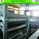 Línea esmaltada compuesta de la protuberancia de la producción del azulejo de azotea del PVC ASA
