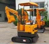 Mini máquina escavadora Xn08 Xn16 de China para a exploração agrícola com Ce