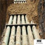 雨水または海水のよい化学抵抗力があるFRPケーブル包装の管