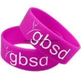 Bracelet populaire personnalisé de silicones de mode pour le festival