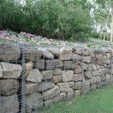 Caixa soldada de Gabion para a gaiola de pedra