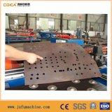 Máquina hidráulica da marcação do CNC para a placa de aço