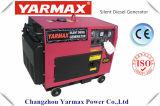 セリウム5.0kVA OEMの供給の最もよい価格のYarmaxの防音のディーゼル発電機