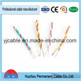 Eléctrica cable trenzado de cobre con Conducta, eléctrica Cable de pares trenzados