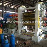 Máquina de borracha do calendário de Rolls da árvore para a folha de borracha (XY-3/450X1500)