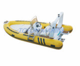 4.8m de Opblaasbare Boot van de Rib Hypalon (RIB480D)