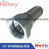 Les ventes en gros ont galvanisé l'embout de durites hydraulique avec du ce et la conformité d'OIN (20711 20711-T)