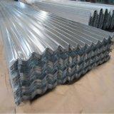 Matériau de toiture enduit galvanisé de tôle d'acier de zinc en acier de bobine